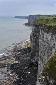 The Cliffs are seriously high - thank goodness for strong fences!
